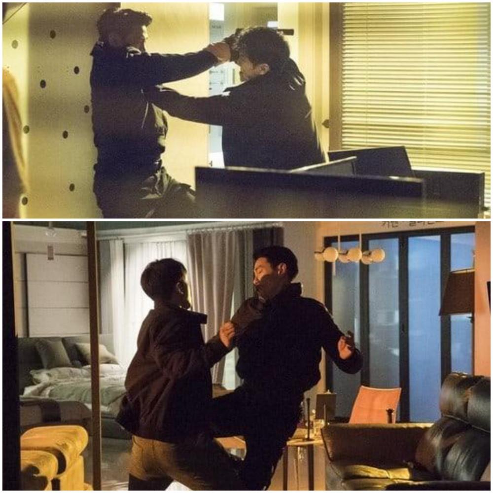 Cảnh quay đánh nhau kinh hoàng giữa Lee Seung Gi và Yoo Tae Oh.