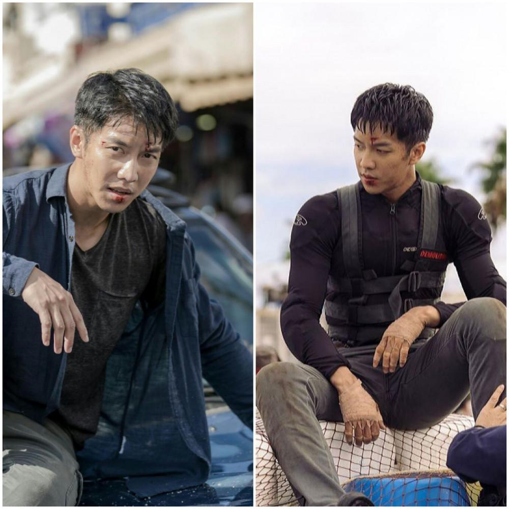 Lee Seung Gi lăn xả trong từng phân cảnh khó.