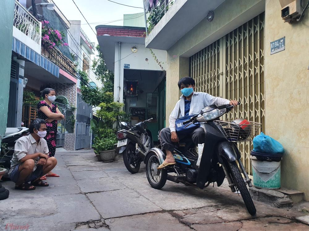 Ba người nghèo khó, tàn tật đang trọ chung tại K194/24 đường Điện Biên Phủ