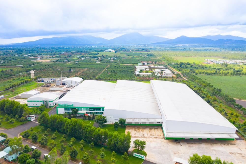 Nhà máy sữa NutiFood Gia Lai