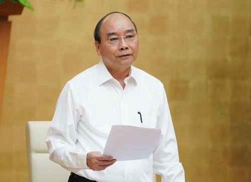 Thủ tướng Nguyễn Xuân Phúc chỉ đạo tại Hội nghị.