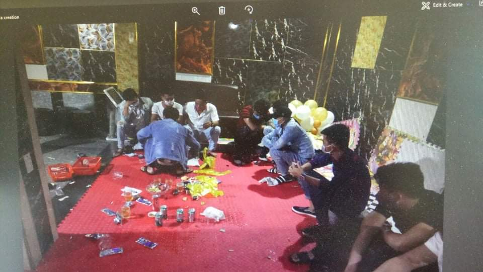 Giữa lúc TP Đông Hà cách ly xã hội, nhóm thanh niên vẫn tổ chức đại tiệc ma túy mừng sinh nhật