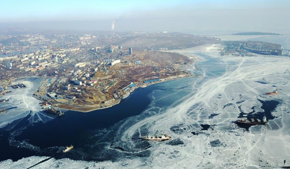 Vịnh Sừng vàng ở Vladivostok, Nga - Ảnh: Shutterstock