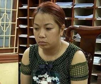 Đối tượng Nguyễn Thị Thu.