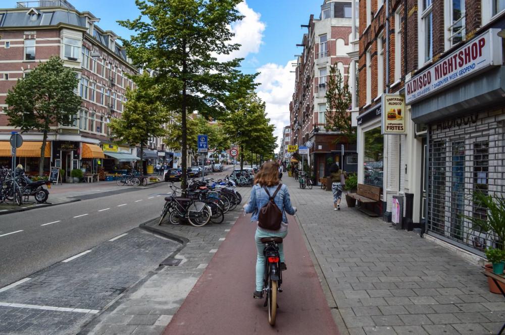 Những con đường dành riêng cho người đi xe đạp có thể được nhìn thấy ở mọi nơi trên đất nước Hà Lan - Ảnh: Modacity