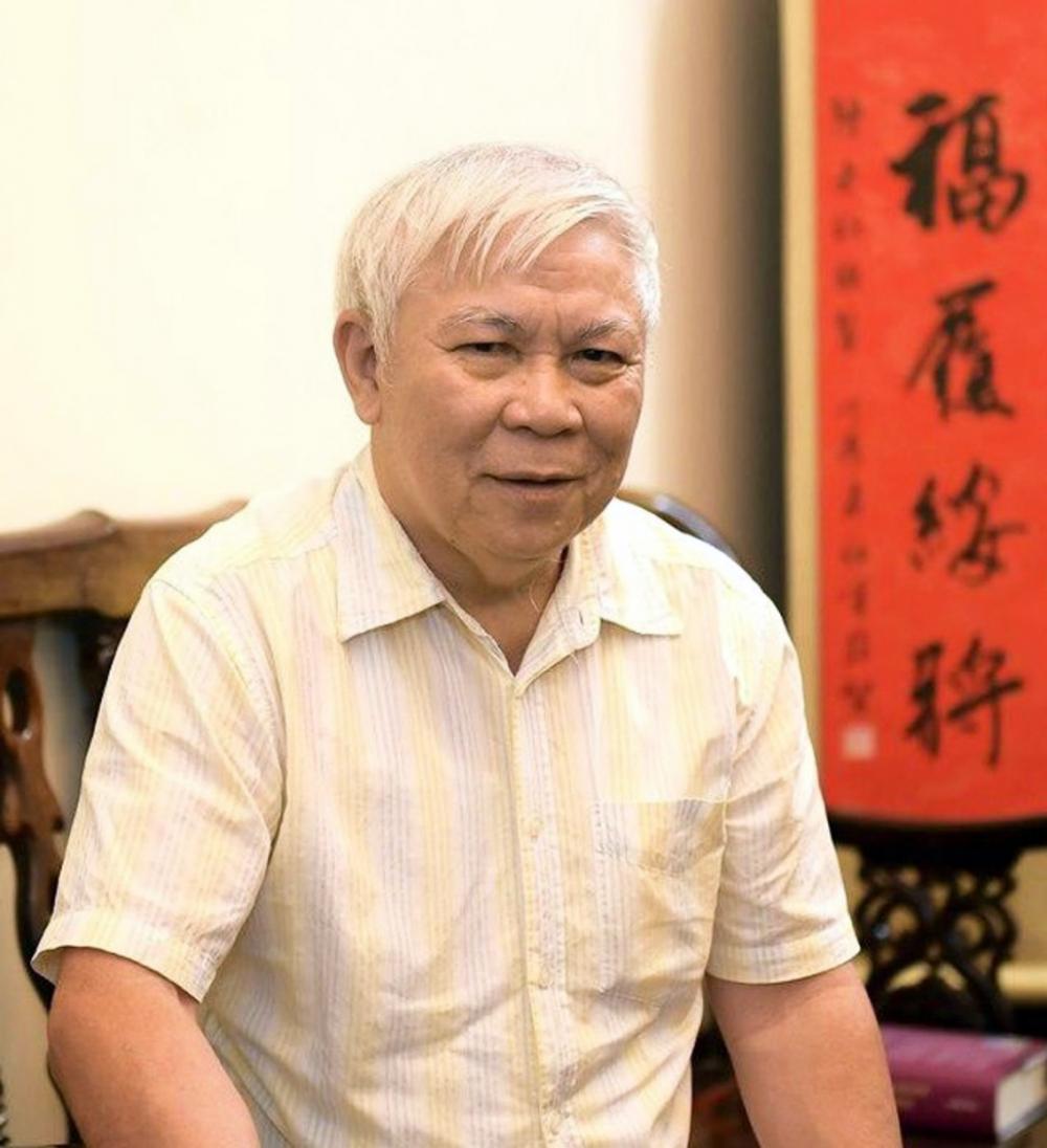 Giáo sư, nhà giáo ưu tú Trần Ngọc Vương - Ảnh: Phạm Tùng