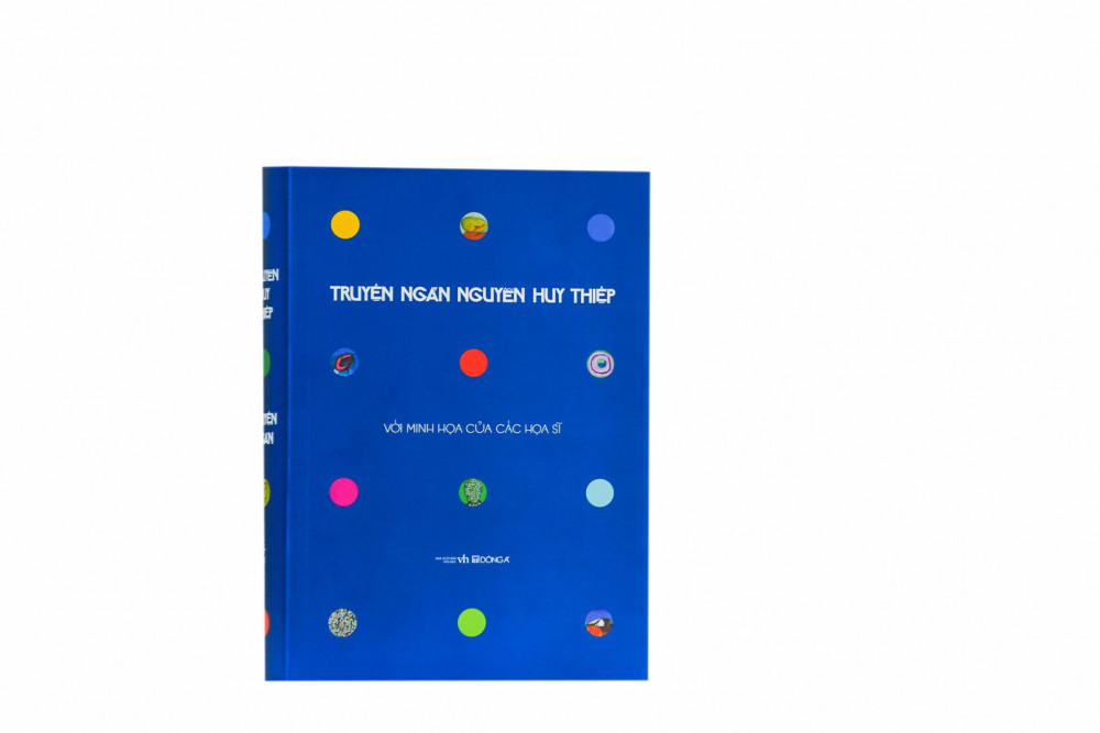 Bên cạnh ấn bản thường, bản S100 Truyện ngắn  Nguyễn Huy Thiệp vừa phát hành có thêm  13 minh họa màu của các họa sĩ đương đại Việt Nam