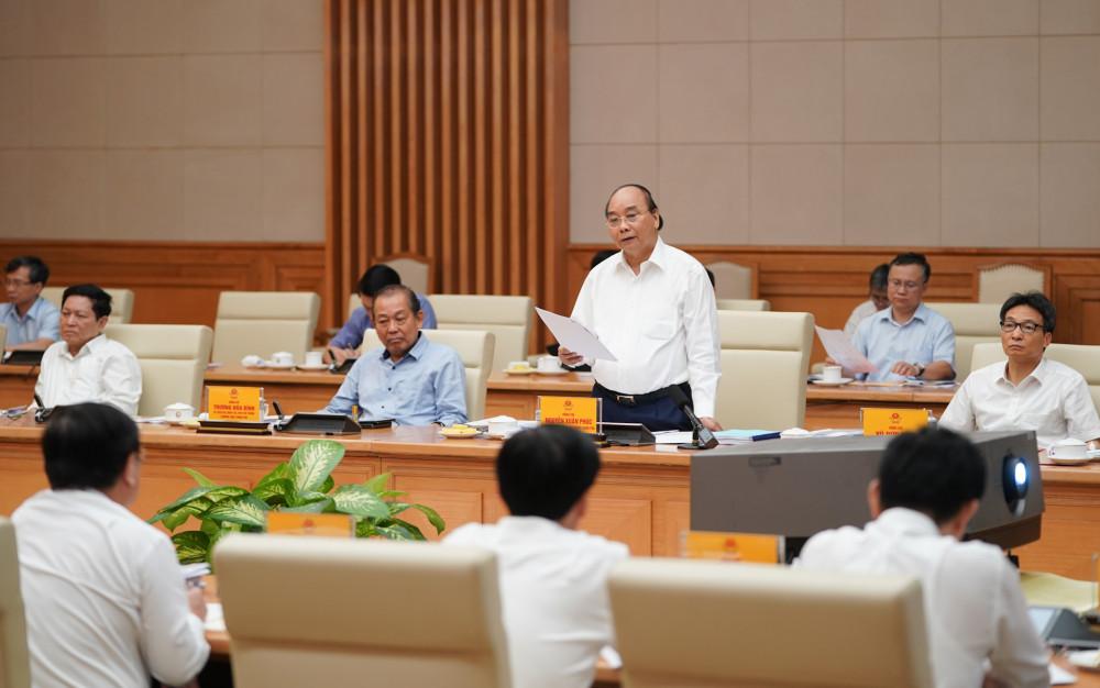 Đây là lần thứ 6 Thủ tướng Nguyễn Xuân Phúc làm việc với TPHCM trong vòng 3 năm qua