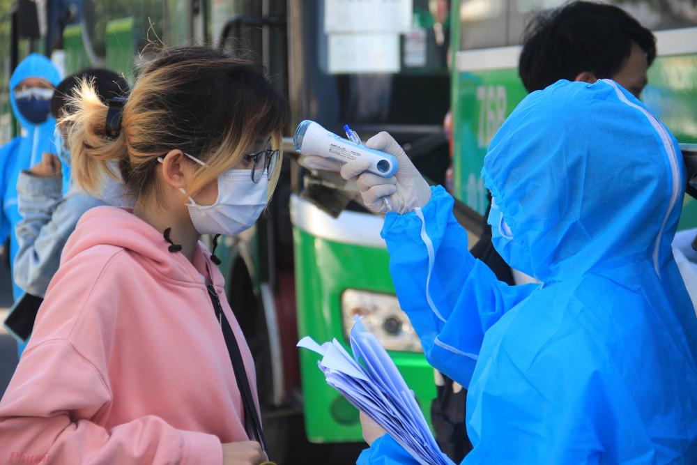 171 thí sinh Đà Nẵng sẽ được xét nghiệm SARS-CoV-2 khi về thành phố
