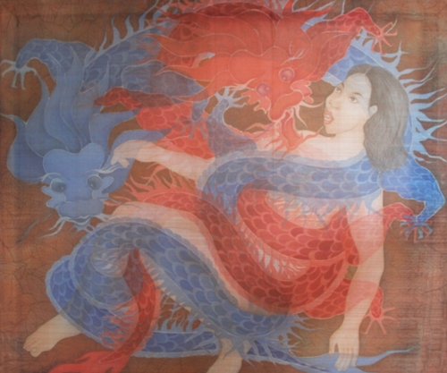 """Tác phẩm """"Inner Confliction"""" của Nguyễn Thị Châu Giang."""