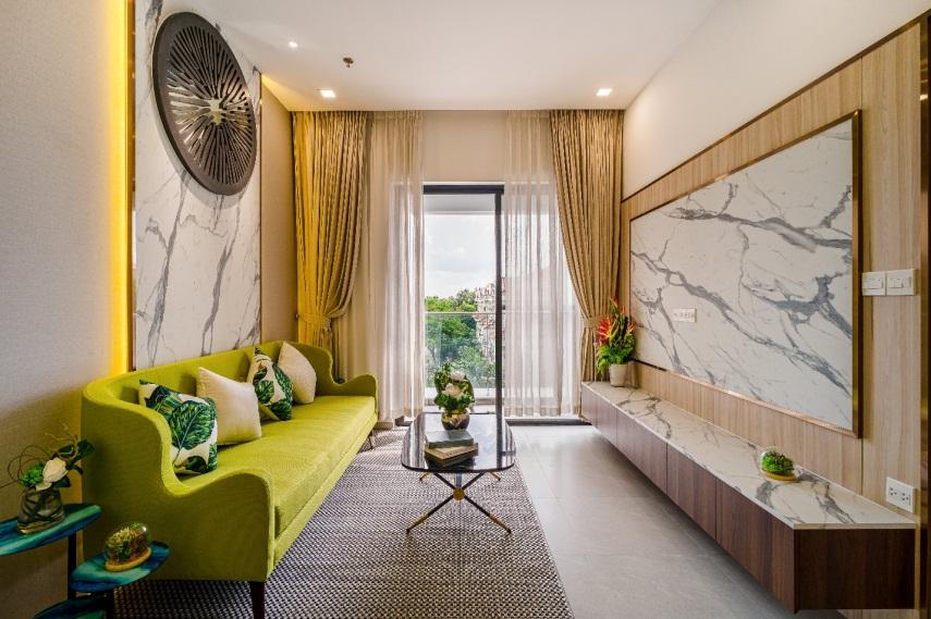 Hình ảnh thực tế căn hộ đã hoàn thiện nội thất tại dự án Hưng Phúc Premier