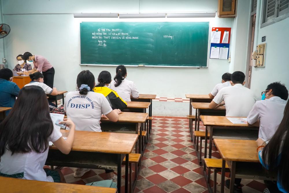 Thí sinh thi tốt nghiệp THPT năm 2020 - Ảnh: Tam Nguyên