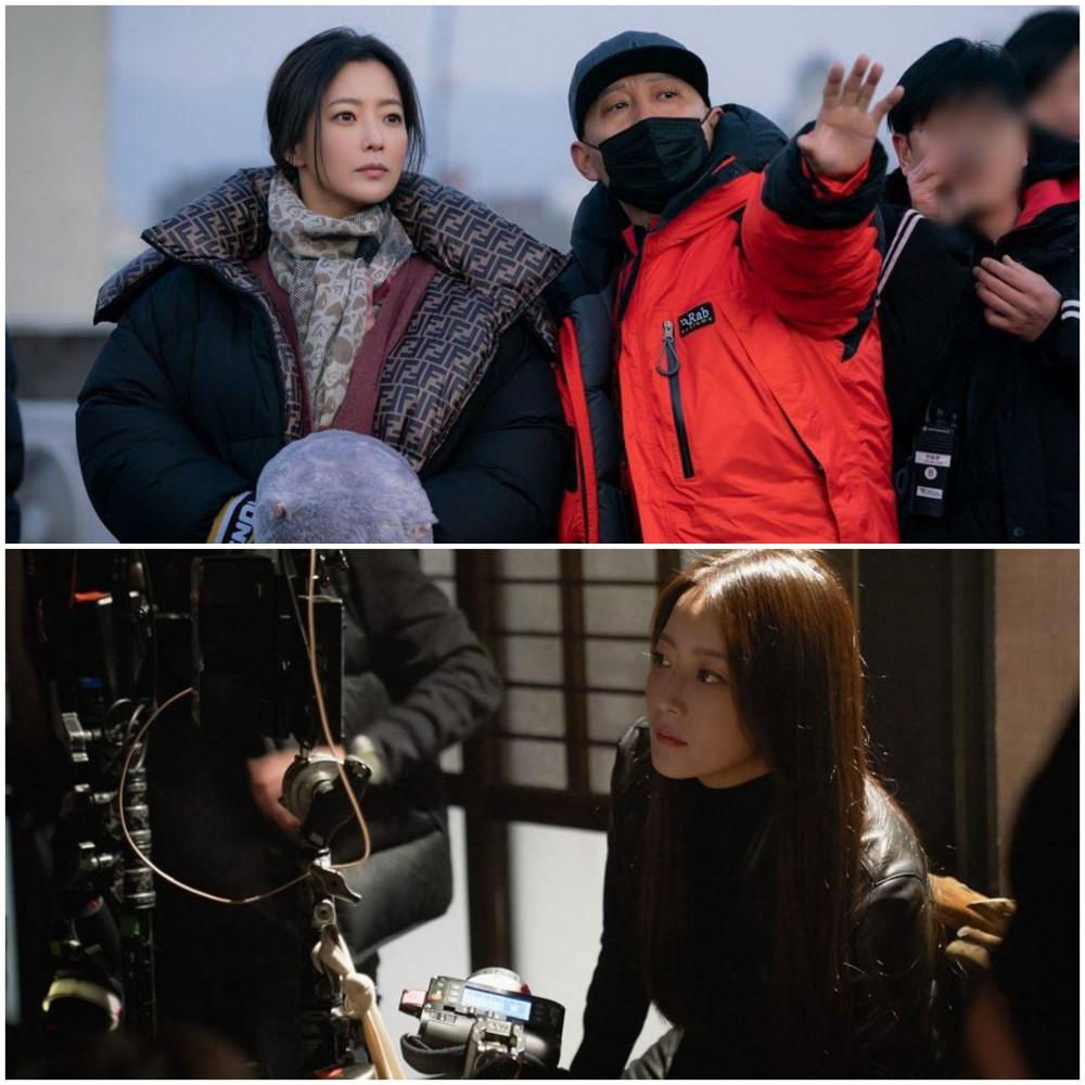 Kim Hee Sun cùng lúc đảm nhận hai vai diễn trong Alice.