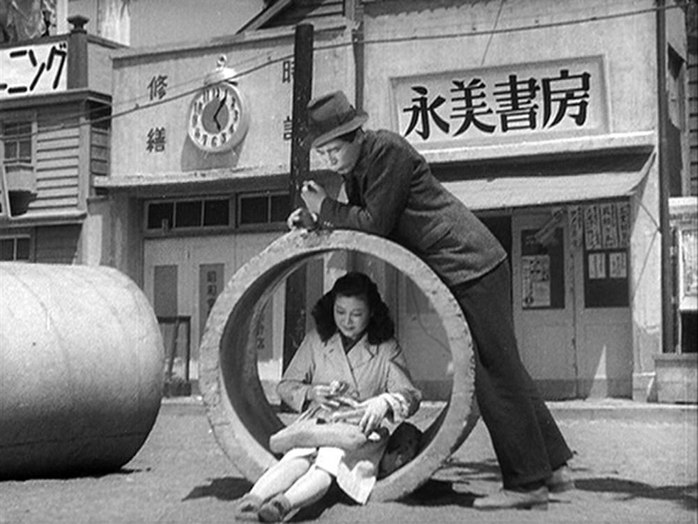Hai nhân vật chính của bộ phim - chỉ có một ngày Chủ nhật, với vỏn vẹn 35 yên và có nhau