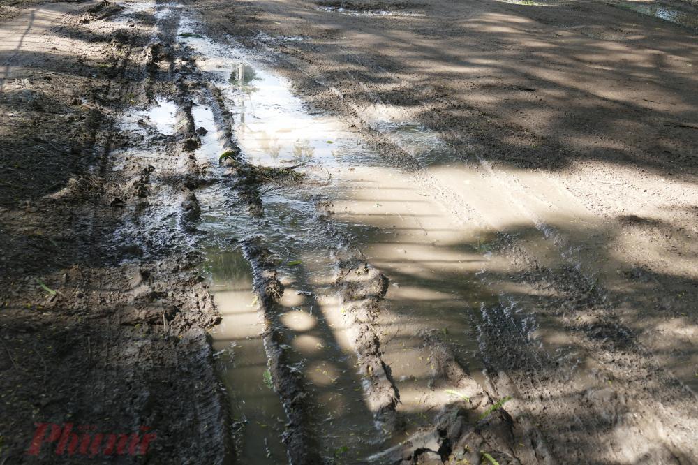Bao giờ nâng cấp, sửa chữa con đường không tên?