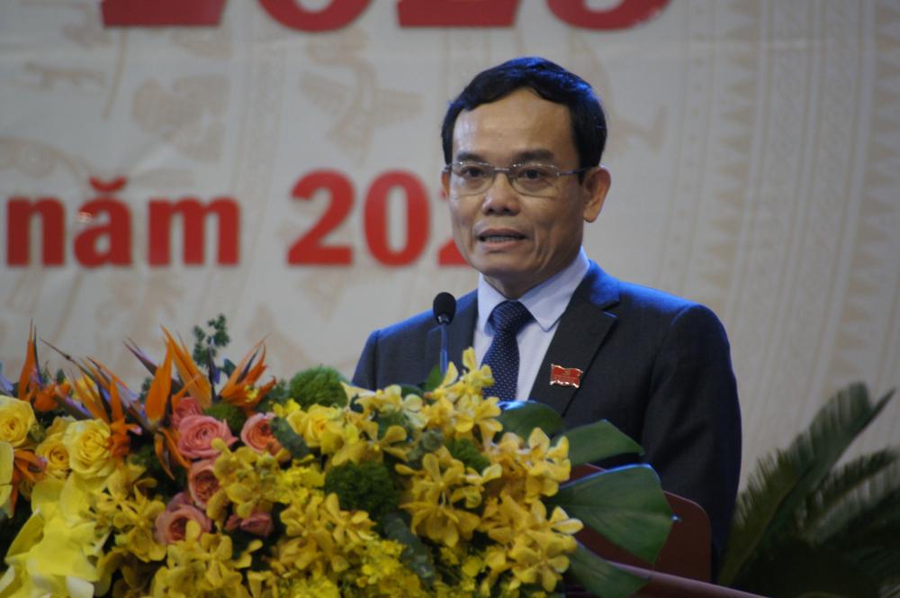 Ông Trần Lưu Quang phát biểu chỉ đạo tại đại hội.