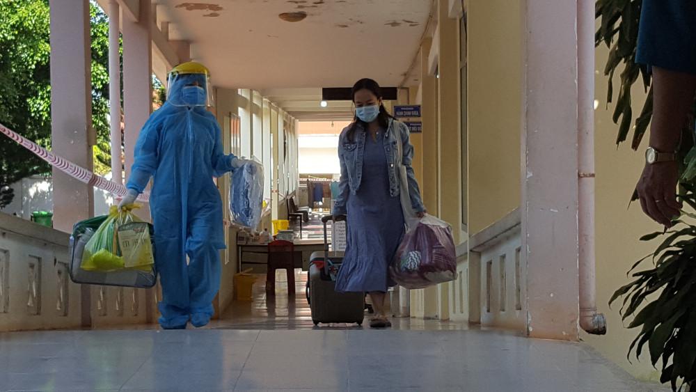 Bệnh nhân 601 rời khỏi khu điều trị