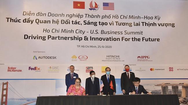 """Sở Thông tin và Truyền thông TP.HCM ký Thỏa thuận tài trợ với Cơ quan Thương mại và Phát triển Hoa Kỳ (USTDA) cho Dự án """"Hỗ trợ kỹ thuật Xây dựng Trung tâm điều hành đô thị thông minh cho TPHCM"""""""