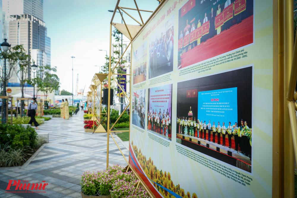 100 ảnh giới thiệu khái quát hoàn cảnh lịch sử và các phong trào đấu tranh của quân và dân ta diễn ra liên tục từ sau ngày thành lập Đảng cộng sản Việt Nam năm 1930