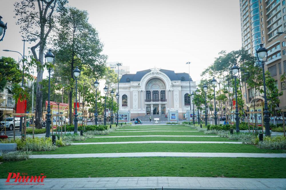 Công viên Lam Sơn được khôi phục và nâg cấp làm tăng giá trị cảnh quan cho khu vực trung tâm Thành phố,sẽ tạo thêm không gian cho các hoạt động triển lãm, tuyên truyền các hoạt động văn hóa, xã hội