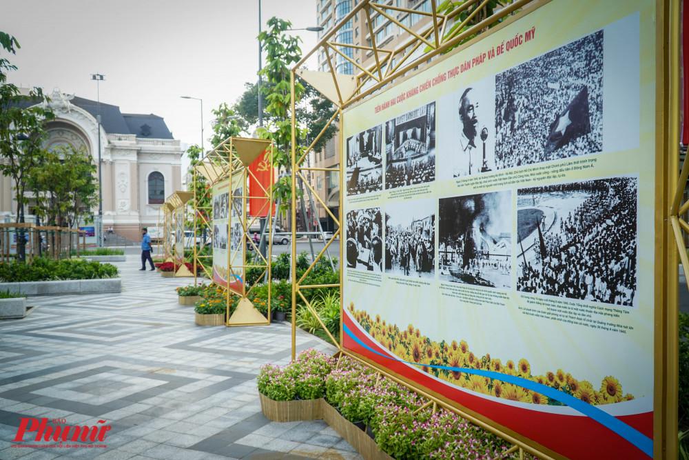 Cuộc triển lãm với chủ đề Tinh thần cách mạng tháng 8 và quốc khánh 2.9 bất diệt