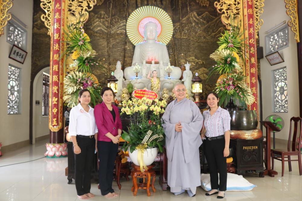 Hội đến thăm chùa Kiều Đàm, quận 9.
