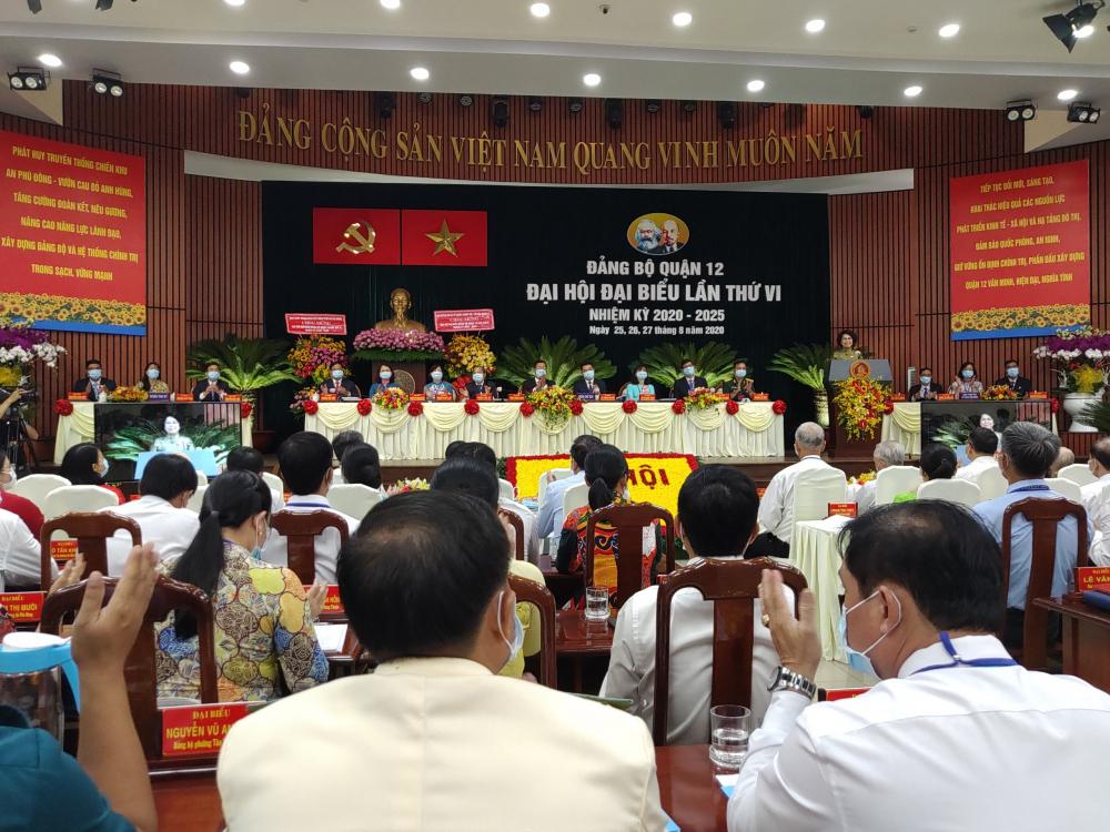 Đại hội diễn ra trong 3 ngày 25, 26 và 27/8 với tham dự của 283 đại biểu đại diện 8.566 đảng viên về đã