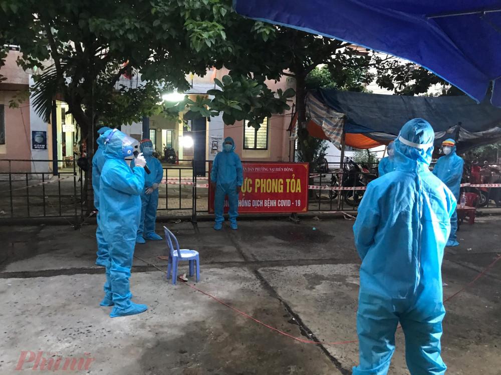 Đà Nẵng phong tỏa thêm một số khu dân cư mới có ca mắc COVID-19