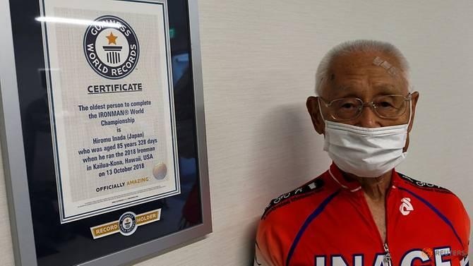 Cụ Inada 87 tuổi đạt chứng nhận Guiness với kỷ lục người cao tuổi nhất tham gia cuộc thi Người sắt.