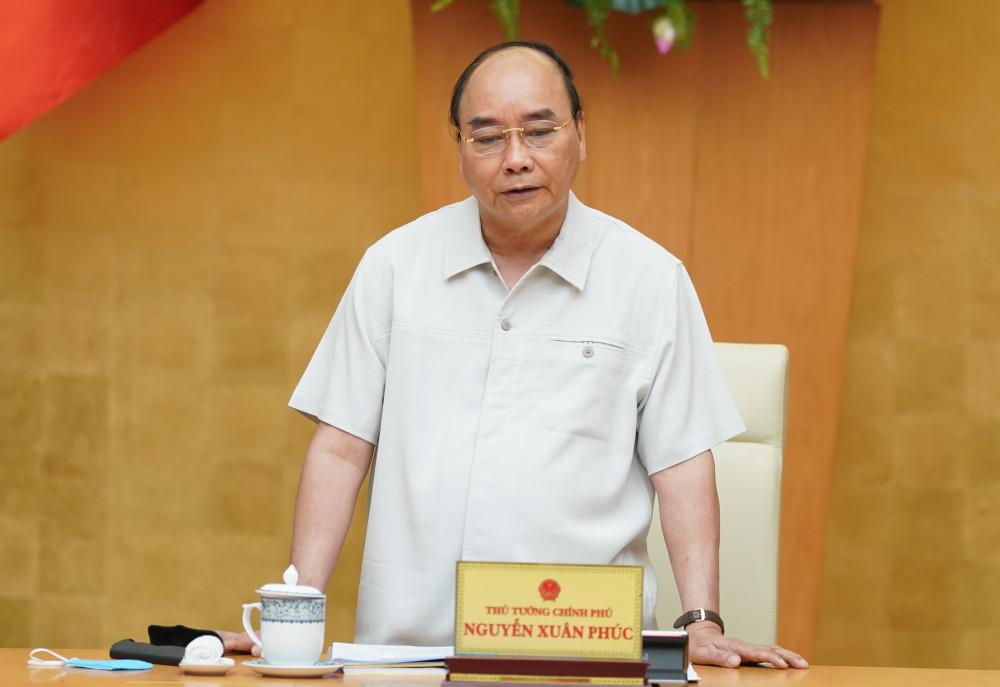 Thủ tướng Nguyễn Xuân Phúc kết luận cuộc họp (Ảnh: VGP).