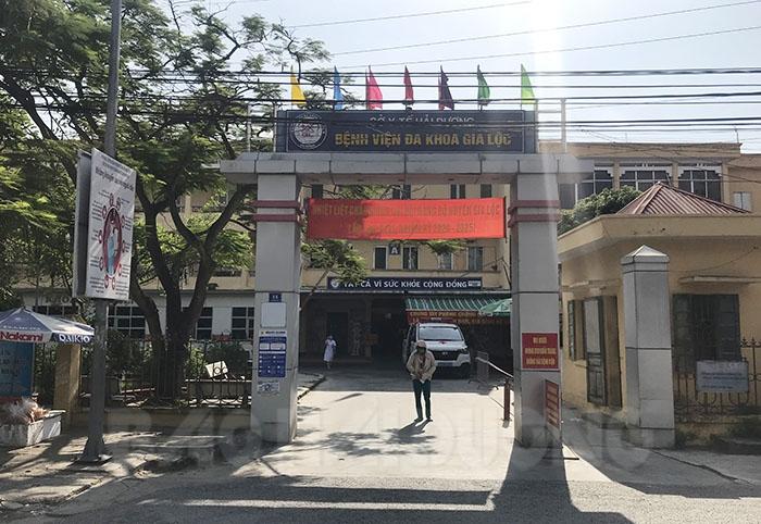Trung tâm y tế huyện Gia Lộc - nơi cách ly nhiều trường hợp F1 liên quan đến chị U.