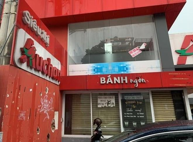 Sau khi rút đi, mặt bằng siêu thị Auchan đã đóng cửa -Ảnh: Công Nguyên/TNO