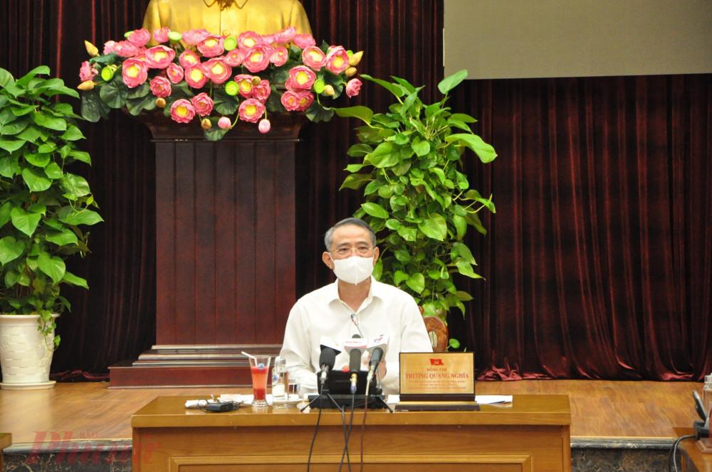 Bí thư Thành ủy Đà Nẵng Trương Quang Nghĩa cho rằng nếu kiểm soát tình hình như hiện nay thì từ tháng 9 có thể nghiên cứu thực hiện giãn cách xã hội theo từng khu vực
