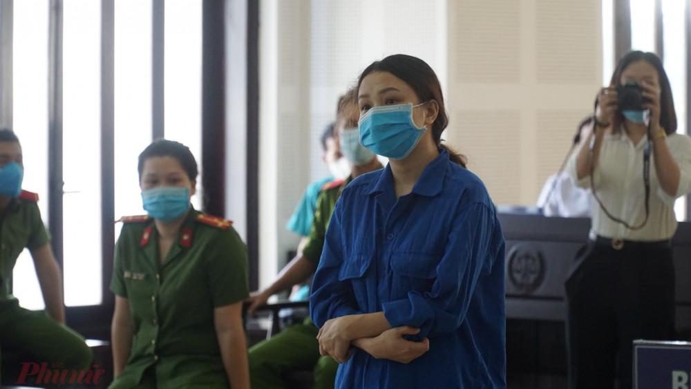Bị cáo Hồ Thị Thu Trinh