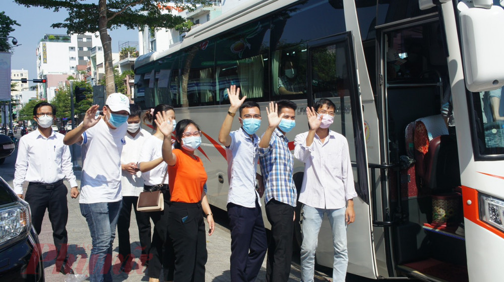 Dự kiến ngày 31/8, đoàn bác sỹ Bệnh viện Chợ Rẫy cũng sẽ chia tay Đà Nẵng sau gần 1 tháng chi viện hỗ trợ cho thành phố
