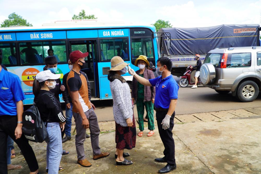 Tỉnh Đắk Nông sẽ tổ chức đón 180 công dân từ Đà Nẵng về địa phương thực hiện công tác phòng chống dịch
