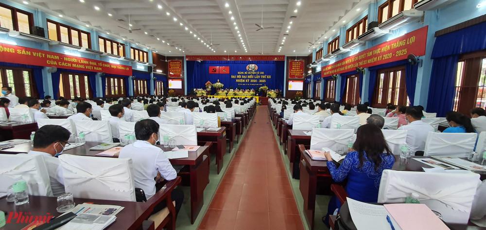 Đảng bộ huyện Củ Chi tổ chức thảnh công Đại hội Đảng bộ huyện lần thứ XII, nhiệm kỳ 2020-2025