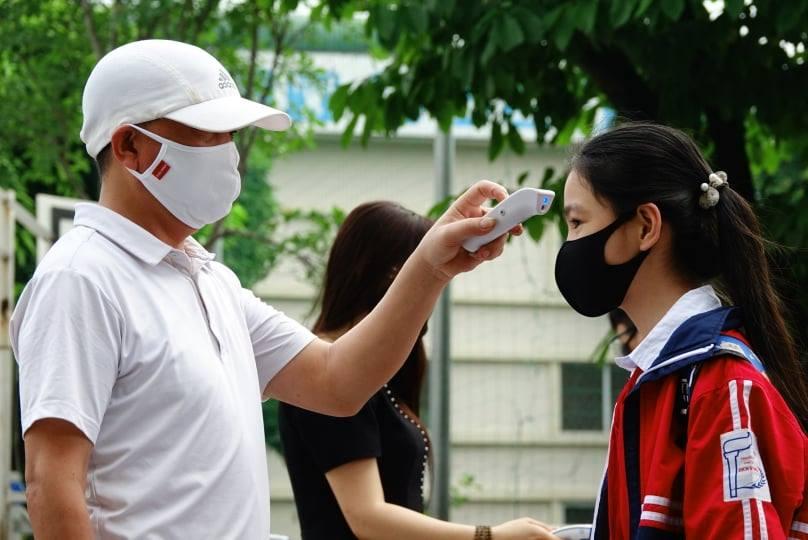Nhiều trường trên địa bàn Hà Nội đã thông báo tới phụ huynh về việc phối hợp phòng chống dịch