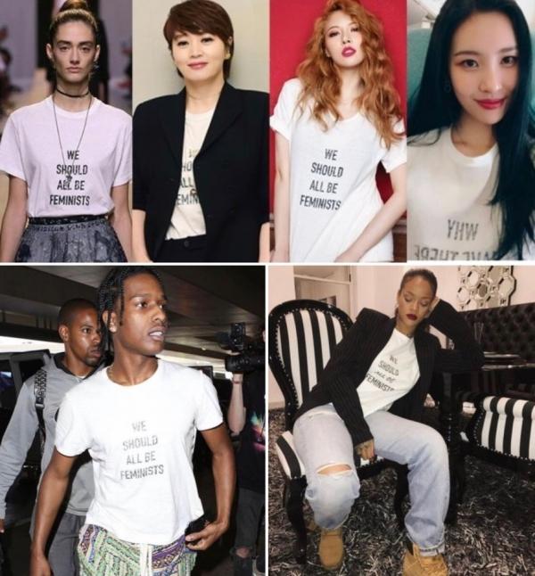 Trước Jor, rất nhiều nghệ sĩ Hàn Quốc và nước ngaoif đã từng diện thiết kế của Dior.