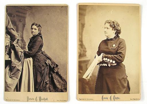 Hai chị em Victoria và Tennie C. Claflina