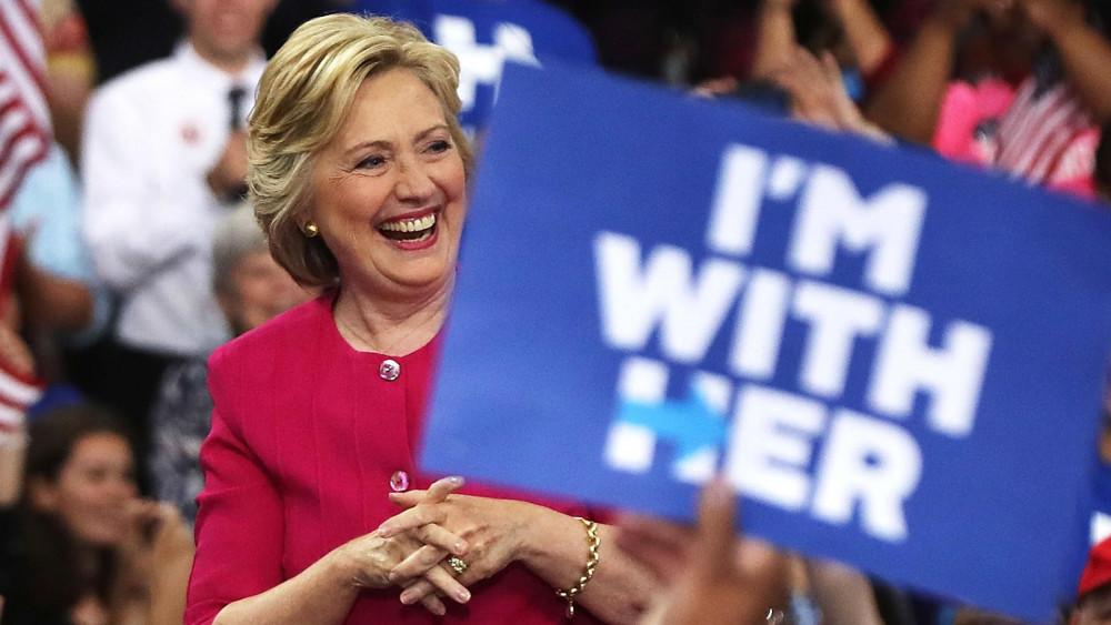 Hillary Clinton là người phụ nữ đến gần chiếc ghế Tổng thống Mỹ nhất trong lịch sử