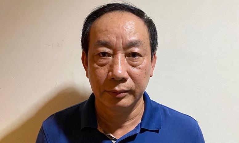 Bị can Nguyễn Hồng Trường.