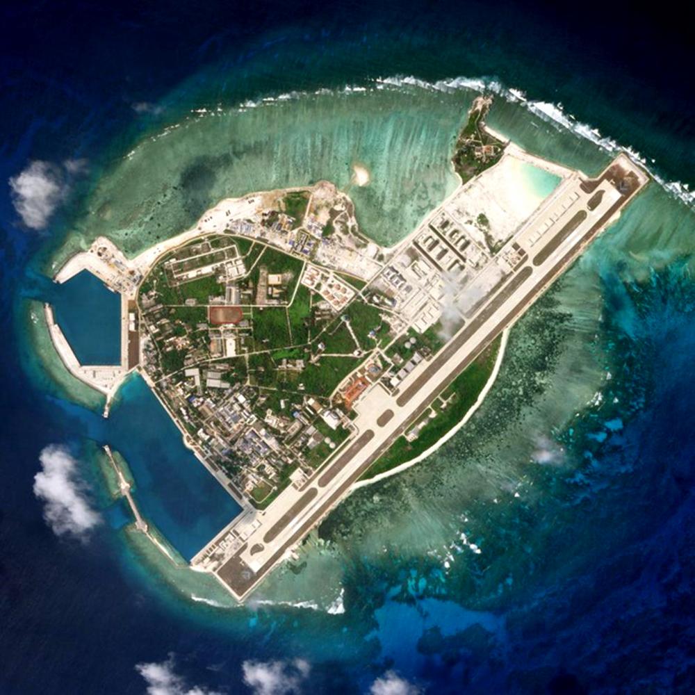 Đảo Phú Lâm thuộc quần đảo Hoàng Sa của Việt Nam bị Trung Quốc chiếm đóng trái phép từ năm 1956