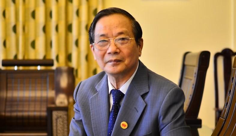 Giáo sư - tiến sĩ Vũ Dương Huân - nguyên Giám đốc Học viện Ngoại giao