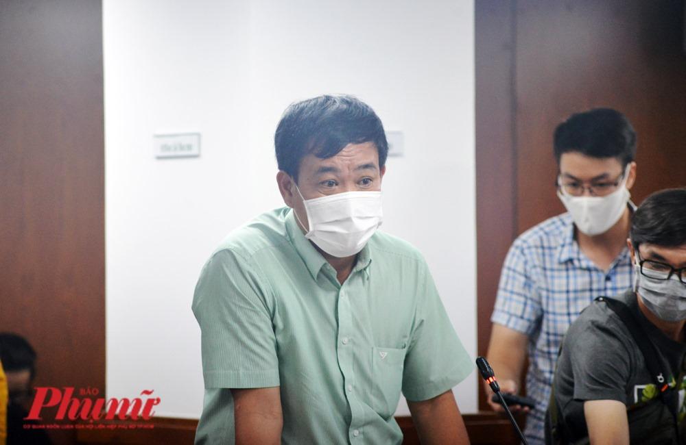 Ông Nguyễn Duy Tân - Phó giám đốc Sở Nội vụ TPHCM -quy trình bổ nhiệm ông Quốc, TPHCM đã thực hiện đúng quy trình.