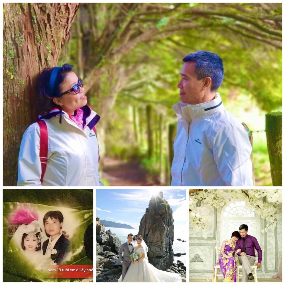 Cứ 5 năm vợ chồng chị Xuân lại tổ chức lại đám cưới 1 lần (Ảnh nhân vật cung cấp)