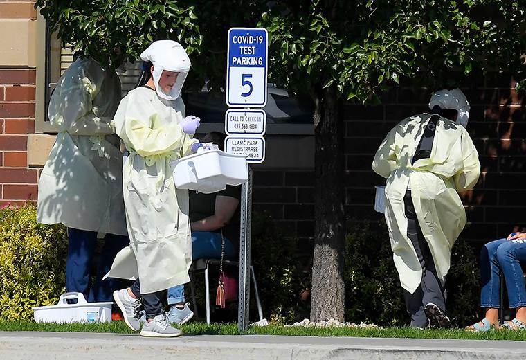 Hoa Kỳ tăng cường xét nghiệm SARS-CoV-2.