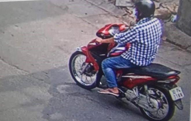 Hình ảnh đối tượng được camera an ninh ghi lại.