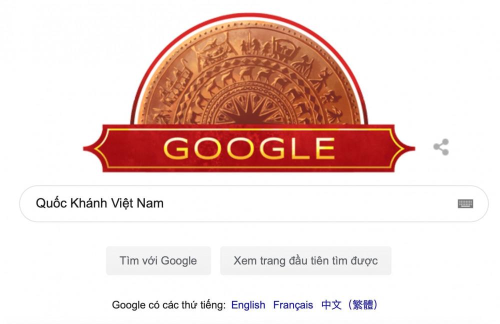 Google cũng từng sử dụng hình ảnh trống đồng Đông Sơn
