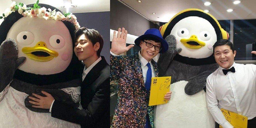 Các nghệ sĩ xứ kim chi dành tình cảm đặc biệt cho Pengsoo.